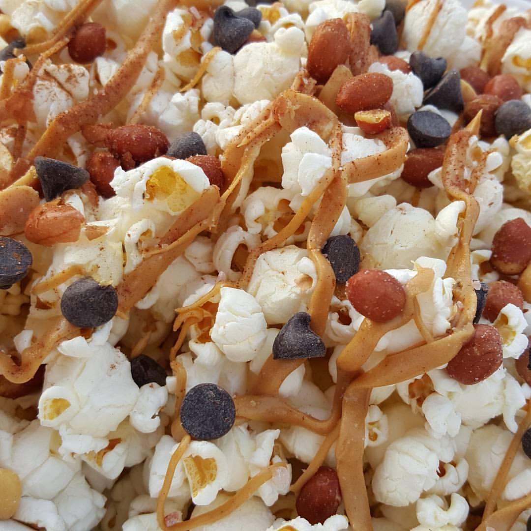Salt-Sweet PB Popcorn