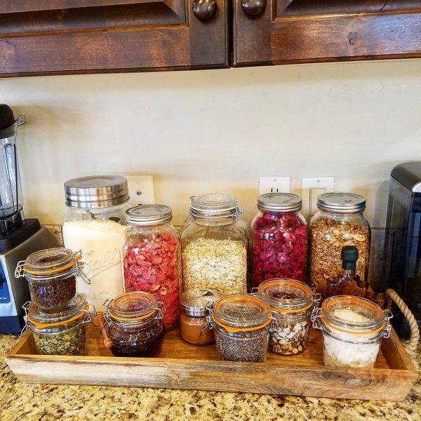 Countertop Breakfast Bar Clean Food Crush