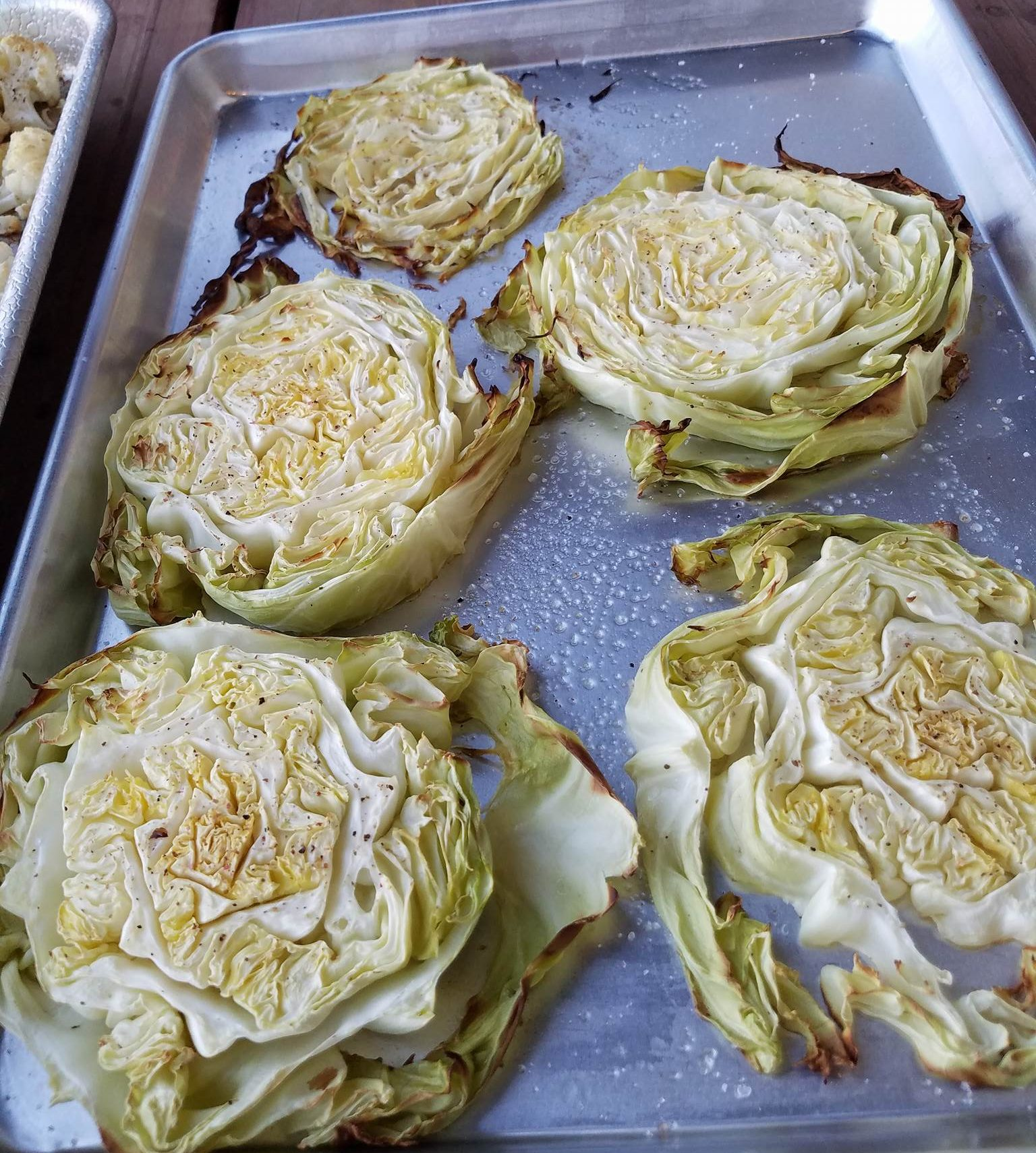 clean-eating-roasted-green-cabbage-wedges http://cleanfoodcrush.com/roasted-green-cabbage-wedges/ http://cleanfoodcrush.com/roasted-green-cabbage-wedges/