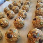 Double Pumpkin and Dark Chocolate Energy Balls