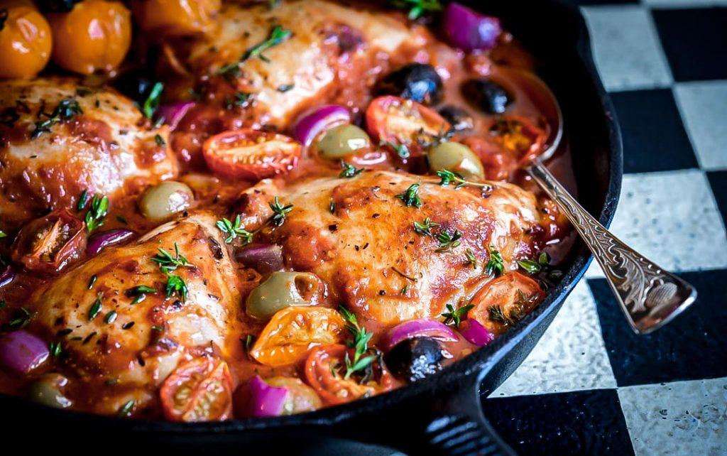 One Pan Mediterranean Chicken Clean Food Crush