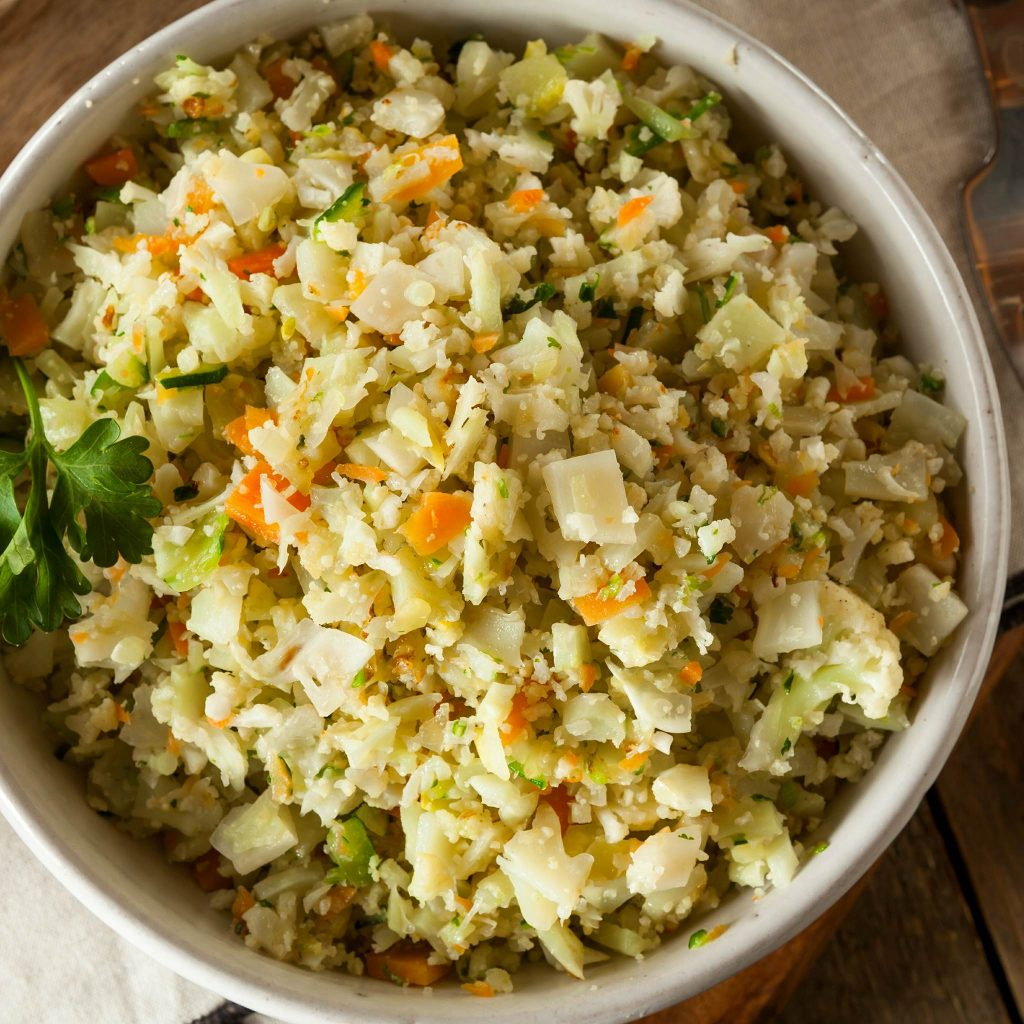 turkey-herb-stuffing-style-%22riced%22-cauliflower-cleaneating