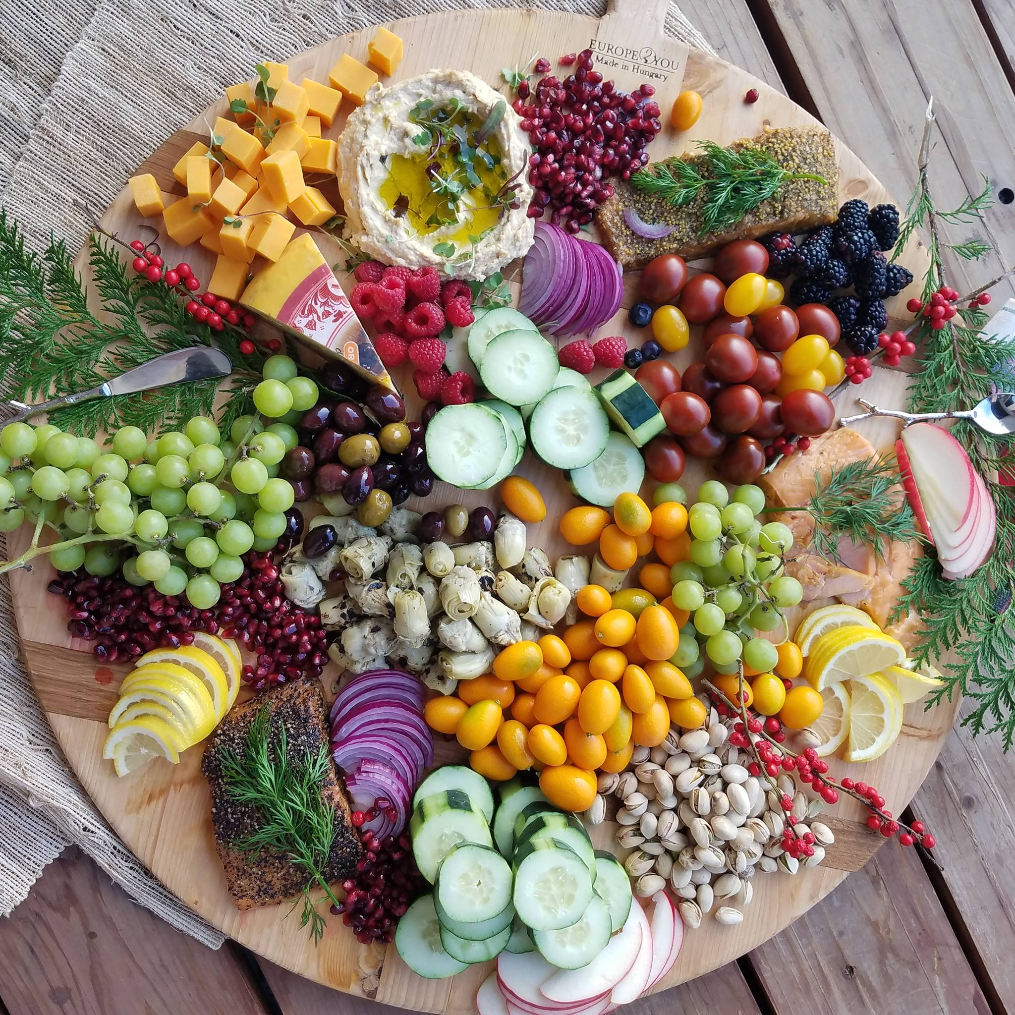 Clean Food Crush Seasonal Party Tray