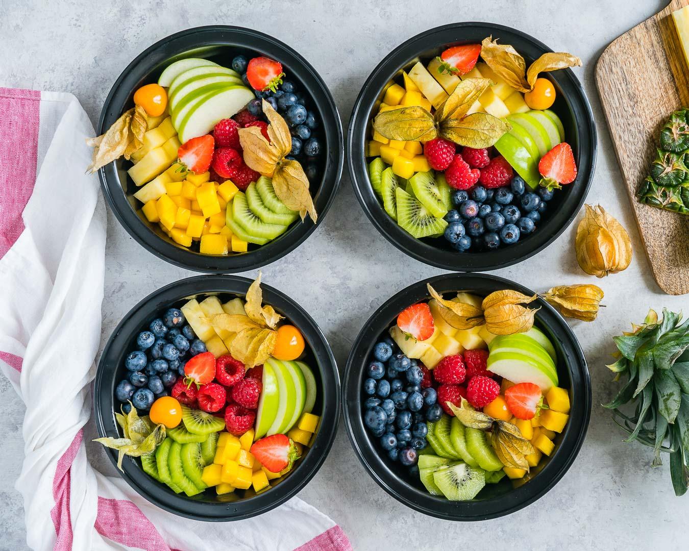 Creative Fruity Bento Boxes