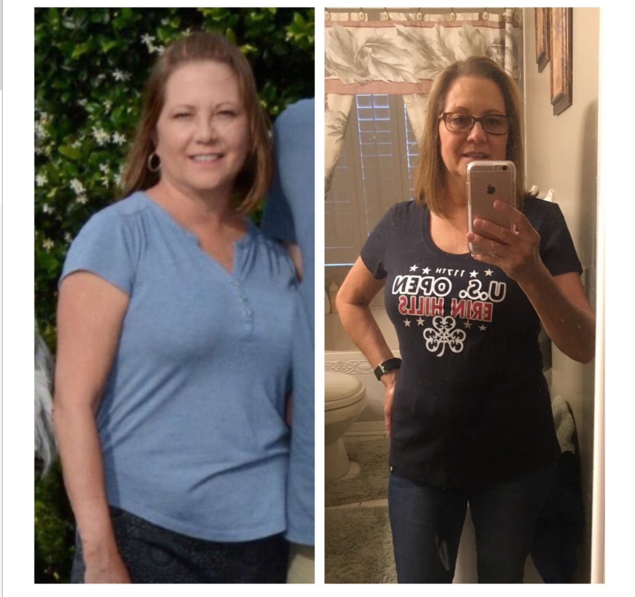 Paula Before and After CleanFoodCrush