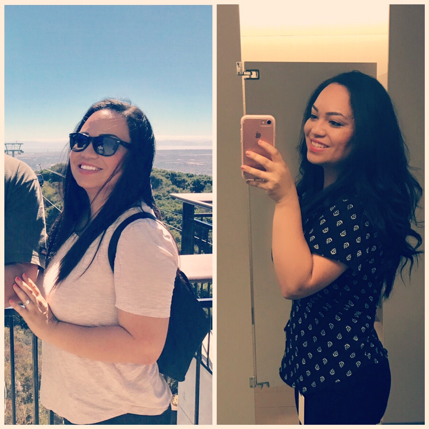 Before and After CleanFoodCrush 30 Day Challenge