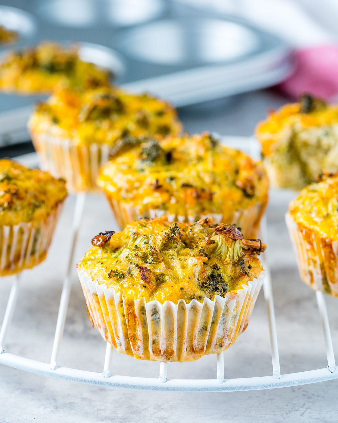 Eat Clean Broccoli Egg Muffins
