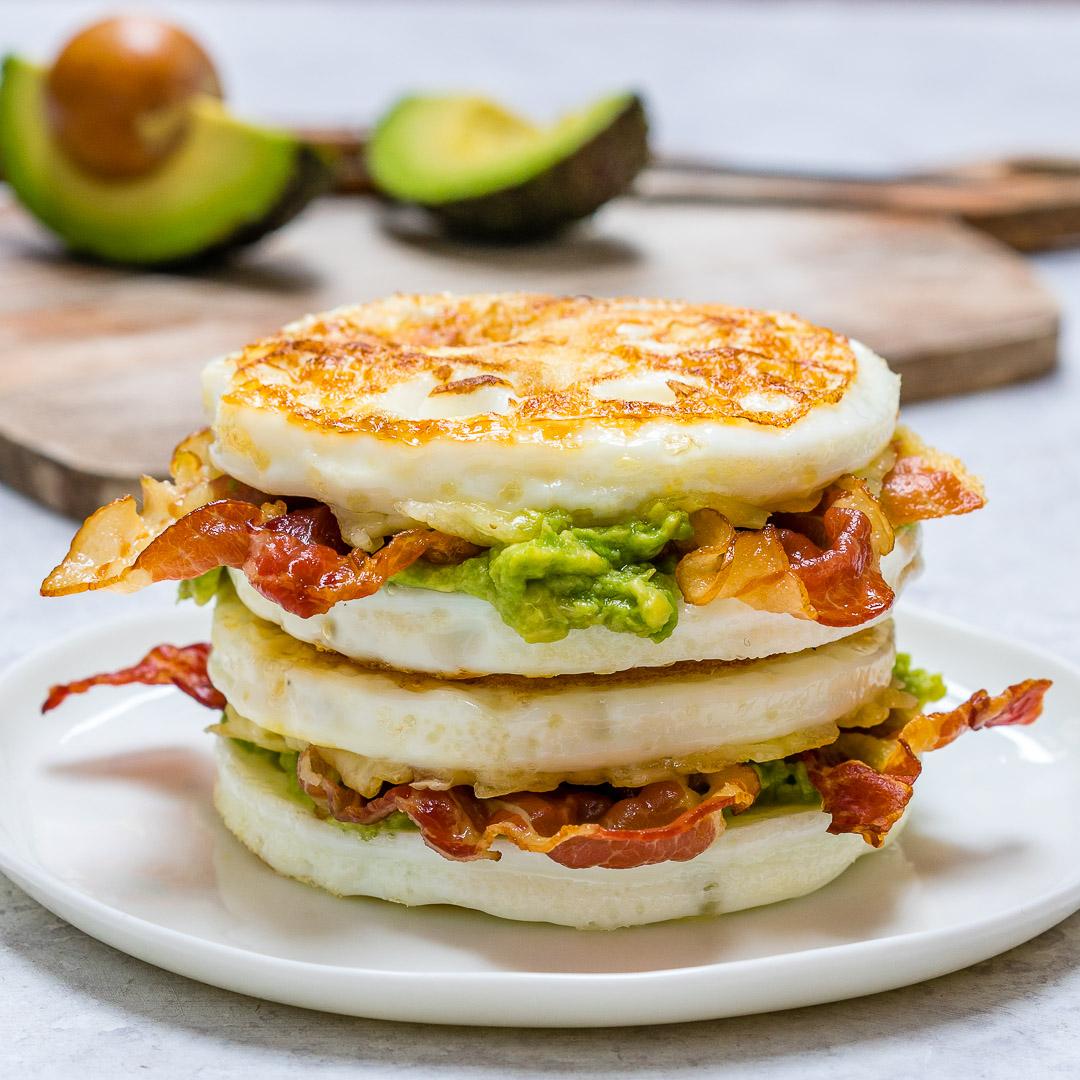 Eat Clean Skinny Buns Egg Sandwich
