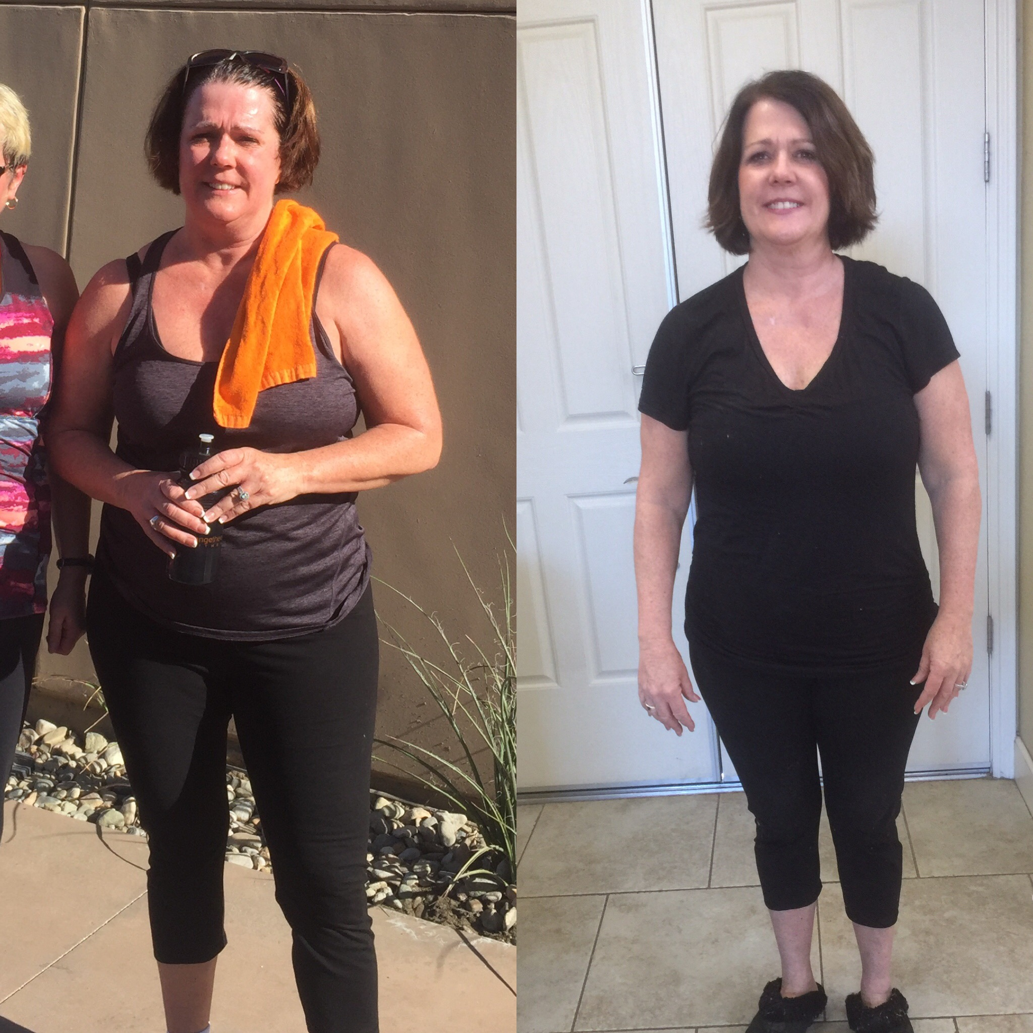 Before & After 30 Day Clean Eating Challenge