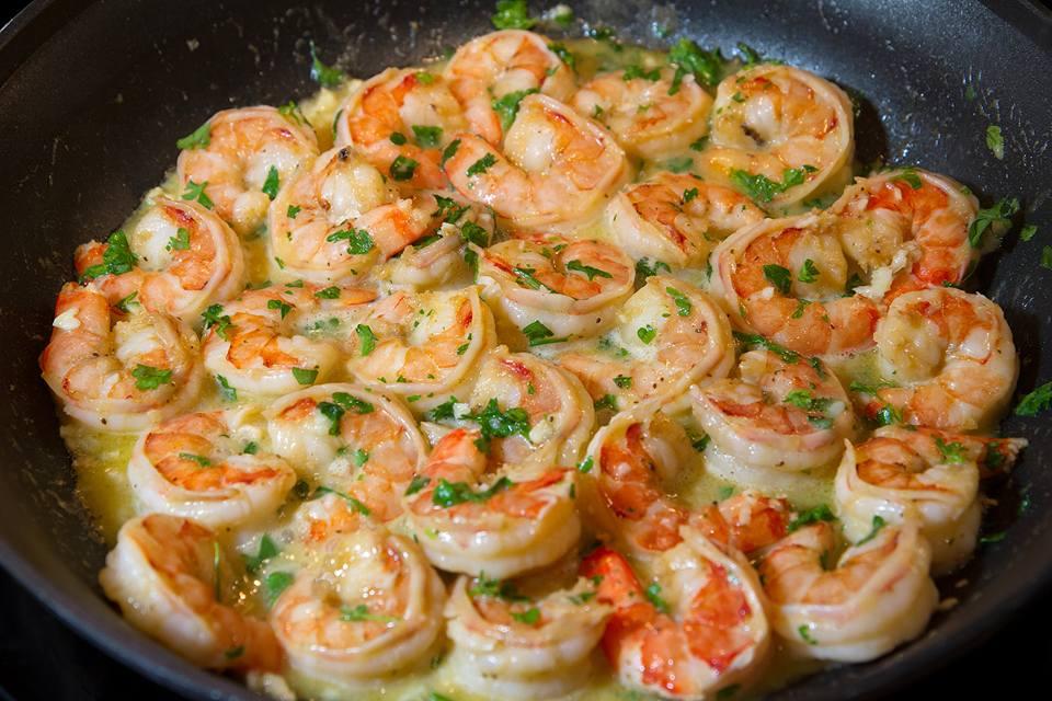 Sydney's Favorite Saucy Shrimp Scampi