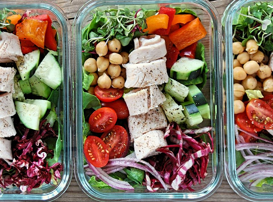 CleanFoodCrush Healthy Salad Prep Ideas