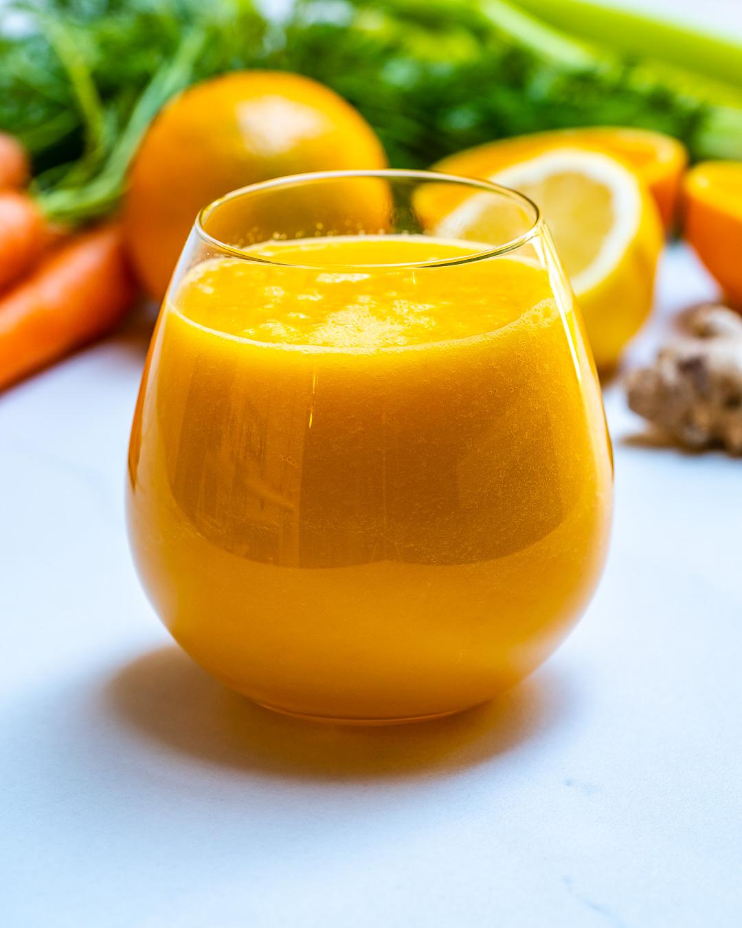 Super Carrot Juice Recipe