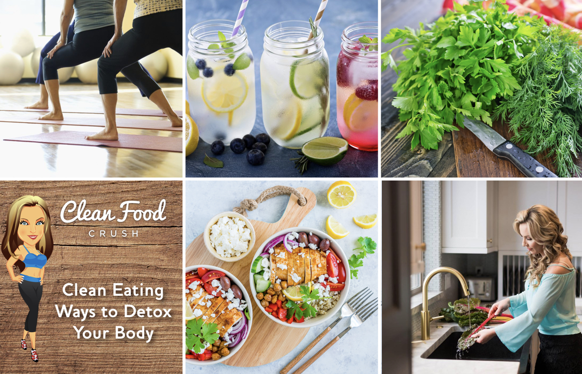 Body detox with clean eating