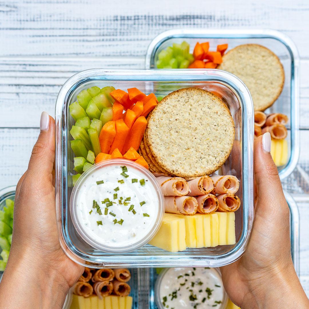 Eat Clean Homemade Ranch Delight Bento Boxes