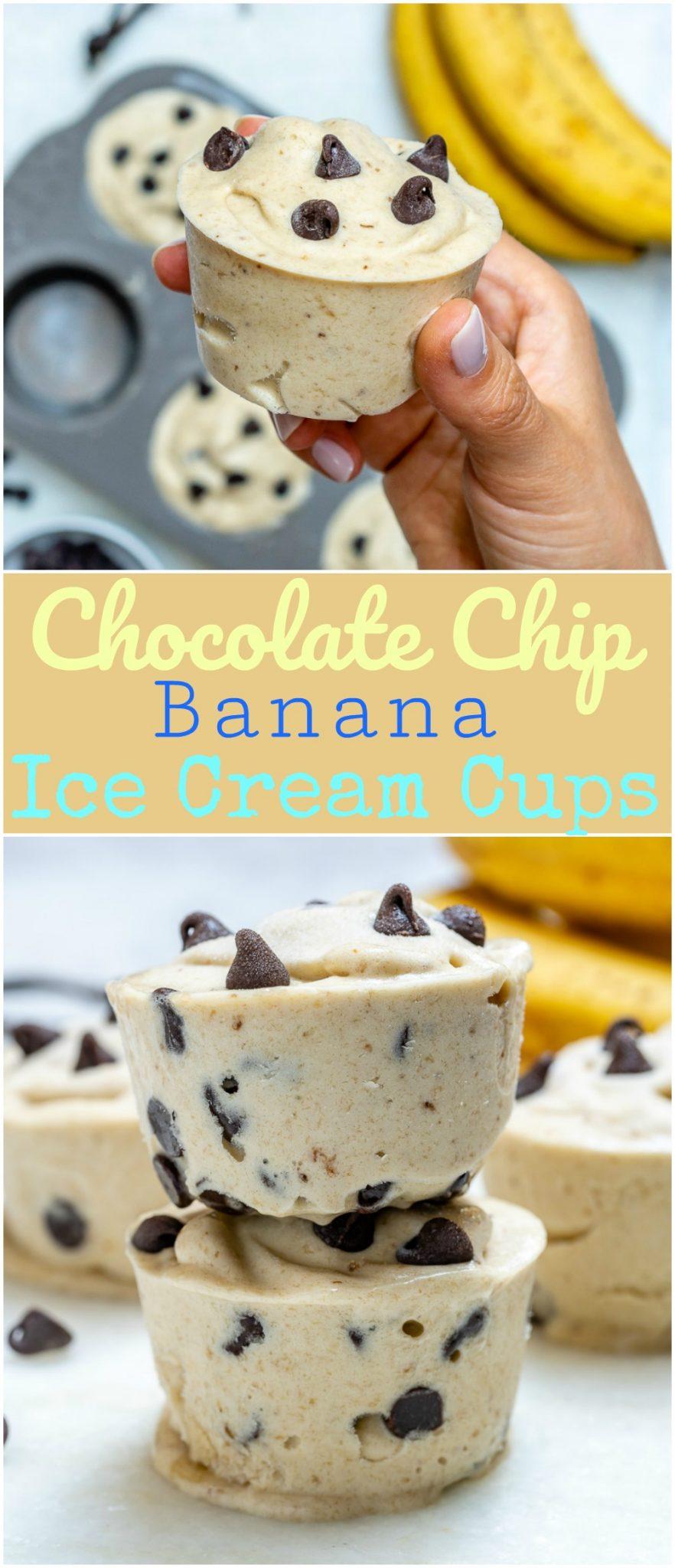Eat Clean Chocolate Chip Banana