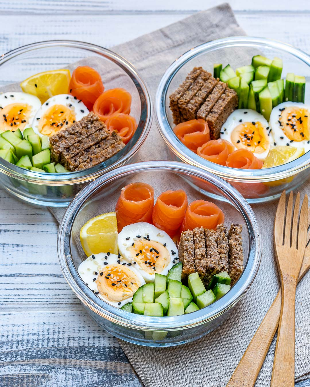 Salmon Protein-Packed Bento Boxes Clean Eating