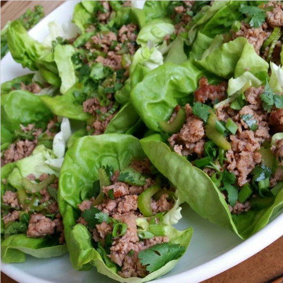 Spicy Lettuce Wraps Recipe {Make with Chicken or Turkey}