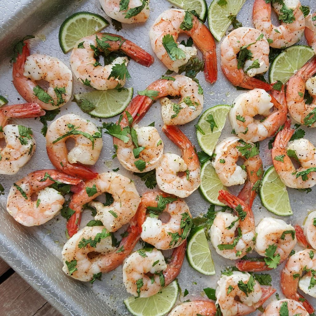 CleanFoodCrush Cilantro-Lime Shrimp https://cleanfoodcrush.com/cilantro-lime-shrimp/