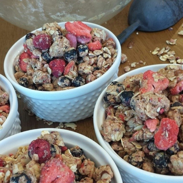 Triple Berry Almond Granola