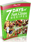 7 days of fun clean recipe book