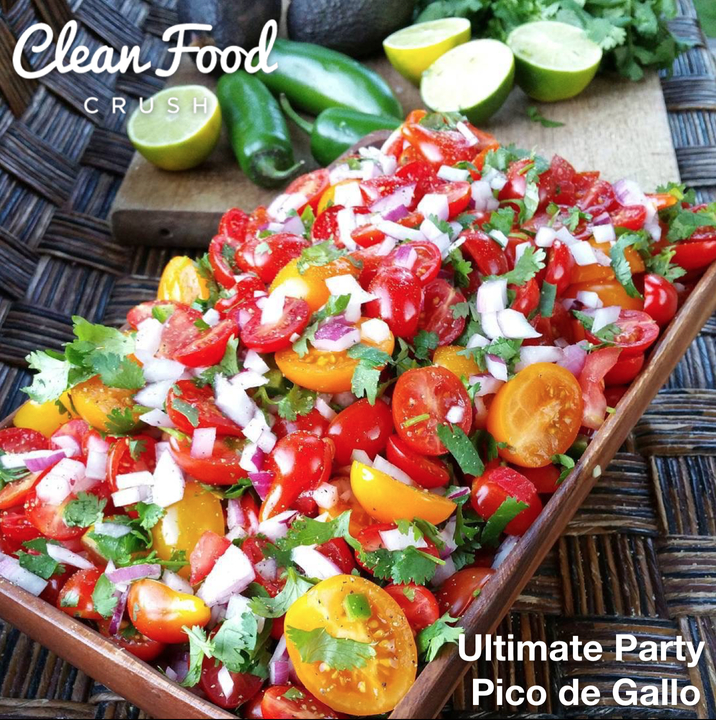 Ultimate Clean Eating Pico de Gallo Ultimate Party Pico de Gallo