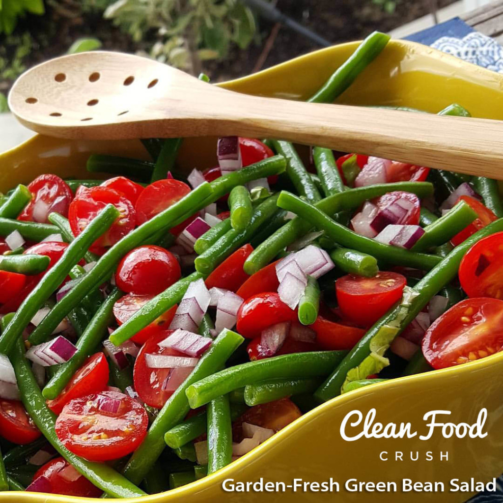 Garden-Fresh Green Bean Salad https://cleanfoodcrush.com/garden-fresh-green-bean-salad