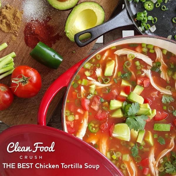 6 can chicken enchilada soup recipe