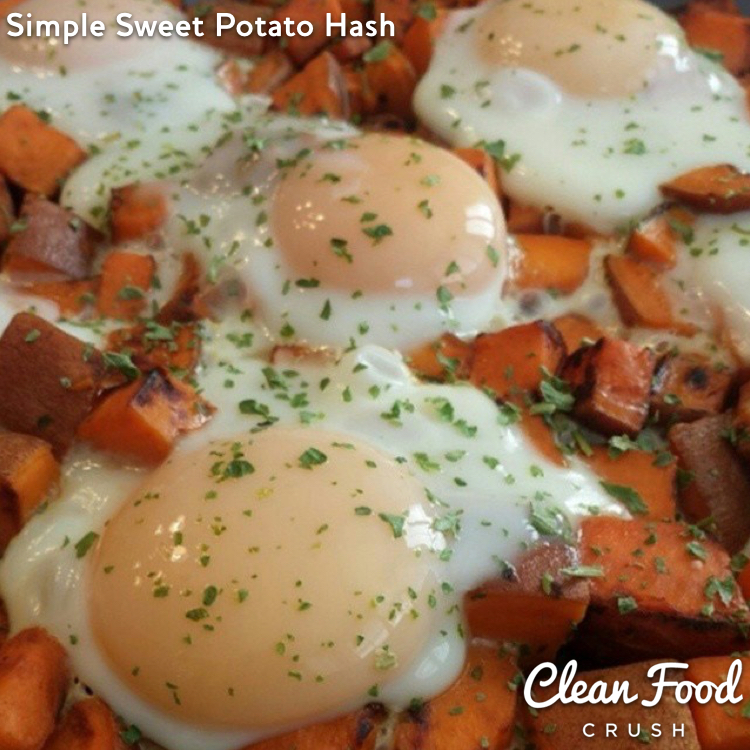 Simple Sweet Potato Hash Recipe