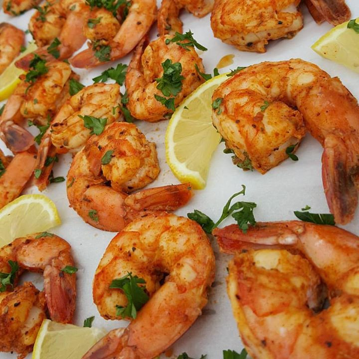 Sweet Cajun Baked Shrimp https://cleanfoodcrush.com/sweet-cajun-baked-shrimp