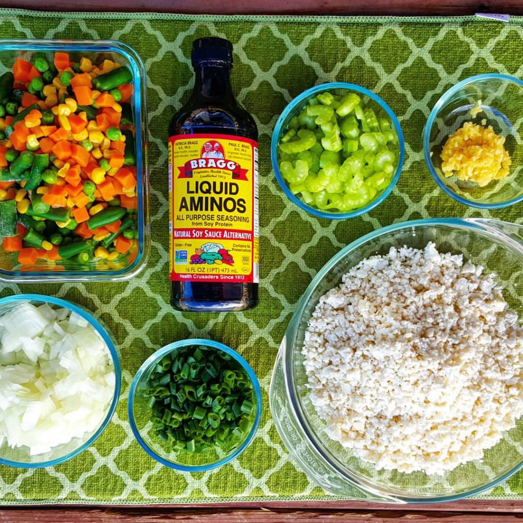 Cauliflower Fried Rice Clean Eating Recipe http://cleanfoodcrush.com/cauliflower-fried-rice/