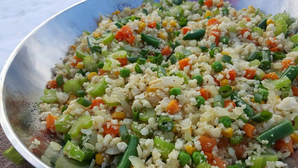 Clean Eating Cauliflower Fried Rice Recipe http://cleanfoodcrush.com/cauliflower-fried-rice/