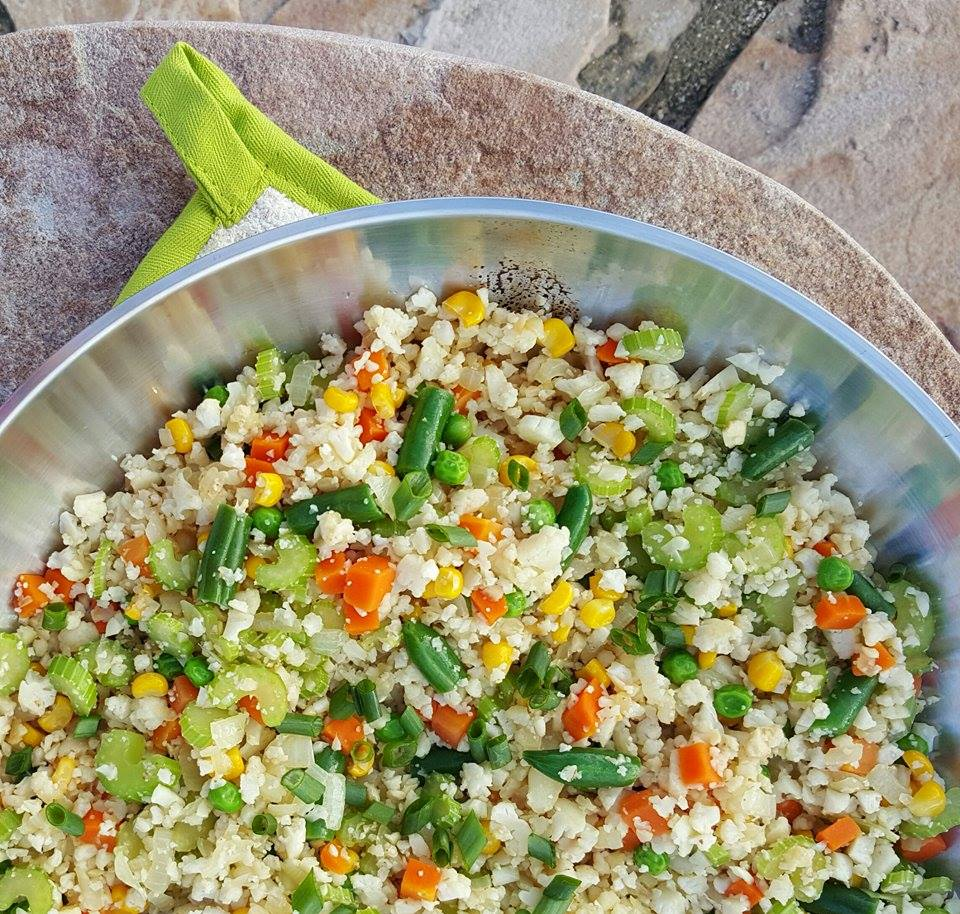 Healthy Fried Rice Alternative http://cleanfoodcrush.com/cauliflower-fried-rice/