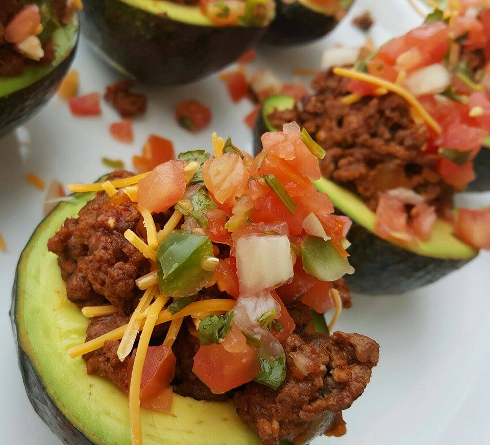 Taco Stuffed Avocados Clean-Eating Recipe