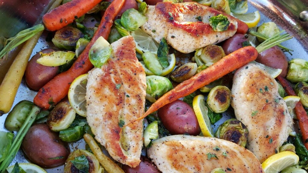 chicken veggie spring skillet recipe https://cleanfoodcrush.com/skillet-chicken-spring-veggies/