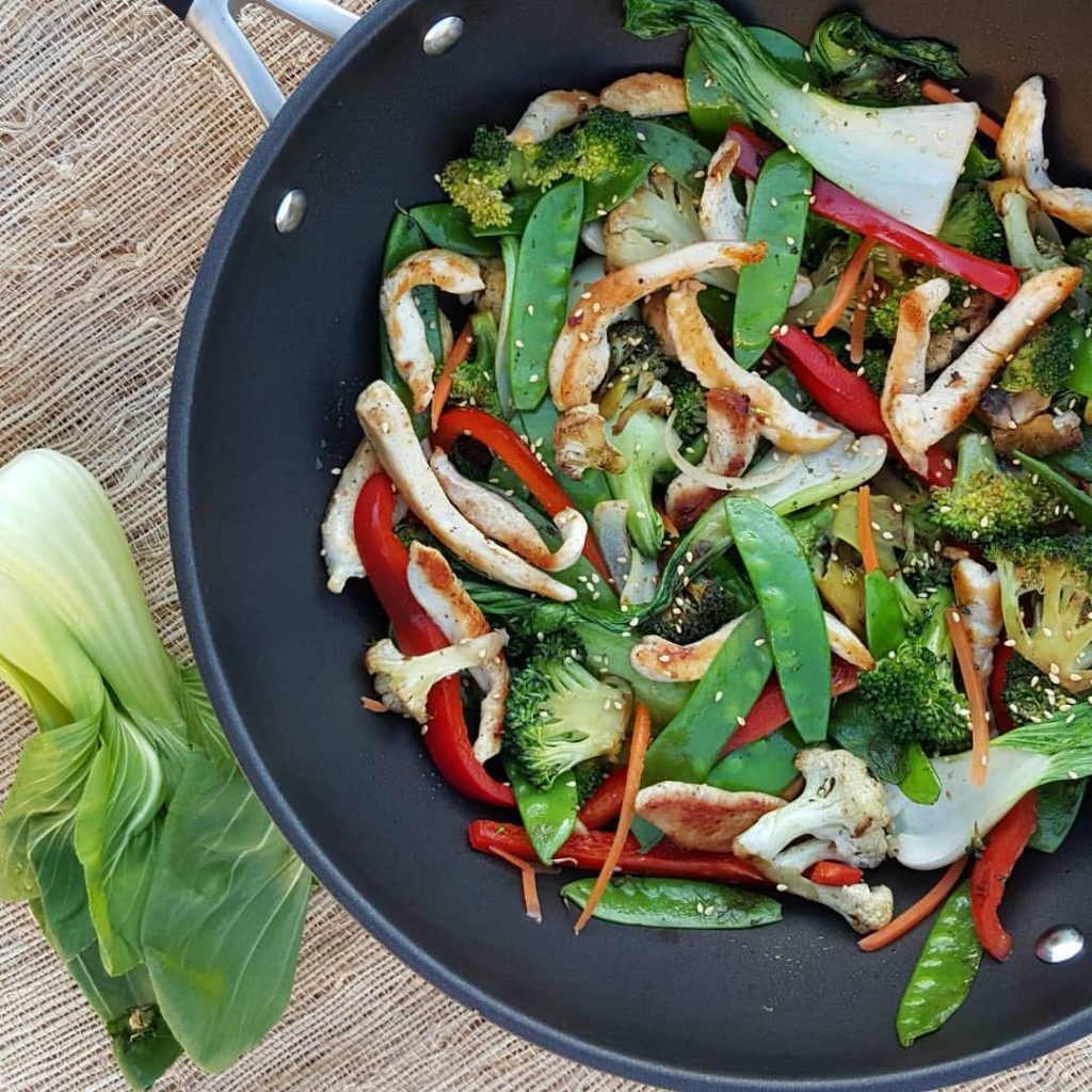 10 minute Veggie-Packed stir fry