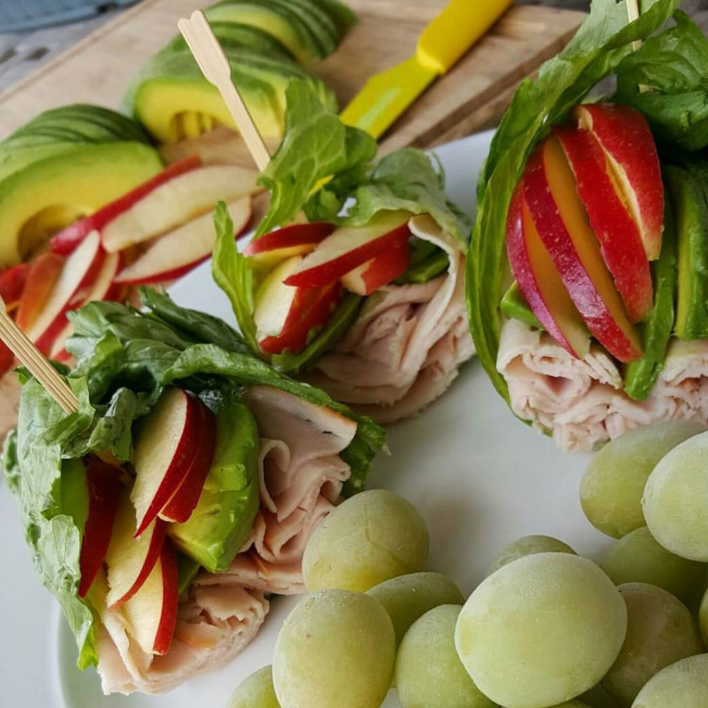 Apple Avocado Turkey Wraps Clean Eating