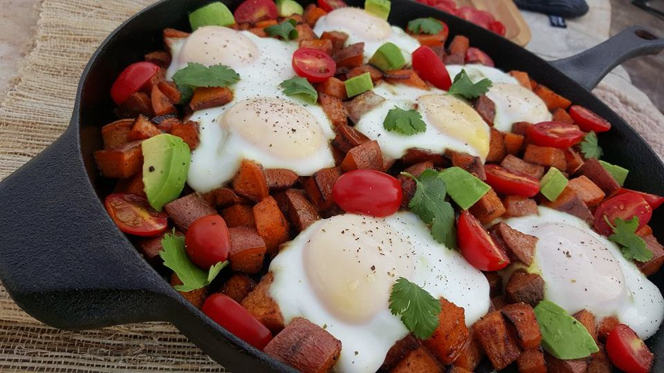 Fiesta Sweet Potato Hash CleanFoodCrush https://cleanfoodcrush.com/fiesta-sweet-potato-hash/