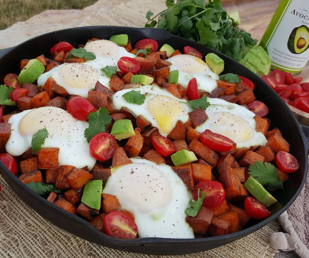 Fiesta Sweet Potato Hash