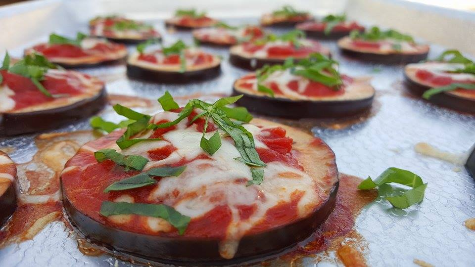 Mini Eggplant Pizzas Bites Clean Eating Recipe