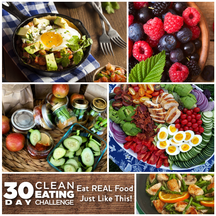 Effective Clean Eating 30 Day Challenge Program
