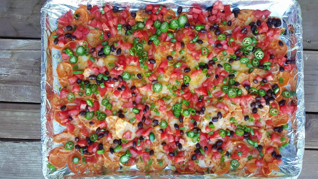 Clean Eating Homemade Sweet Potato Nachos https://cleanfoodcrush.com/sweet-potato-nachos/