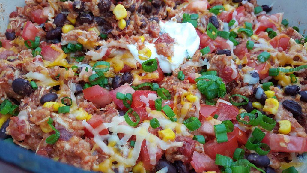 Crock-pot Chicken Burrito Bowls cleanfoodcrush.com/burrito-bowls/