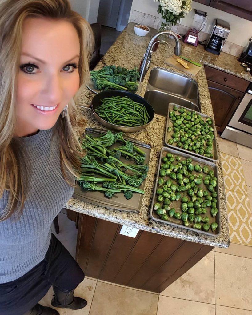 Prepping Roasted Veggies