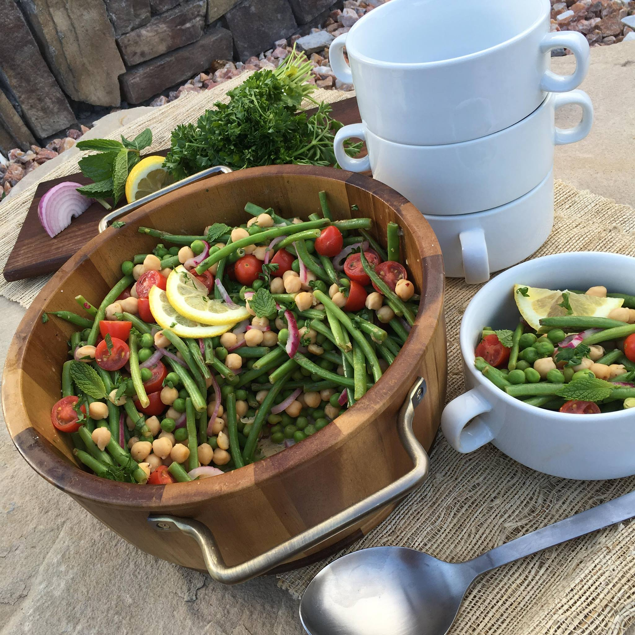 Summer Peas and Green Bean Salad Clean Food Crush