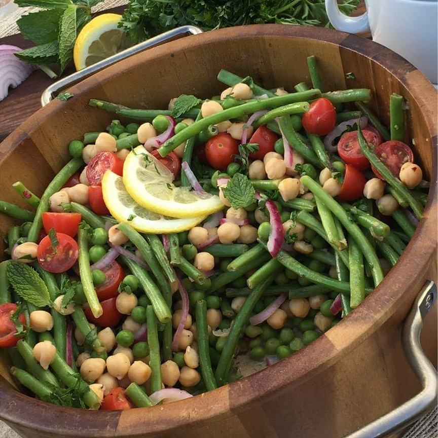 Summer Peas and Green Bean Salad