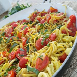 Yellow Summer Squash 'Spaghetti'