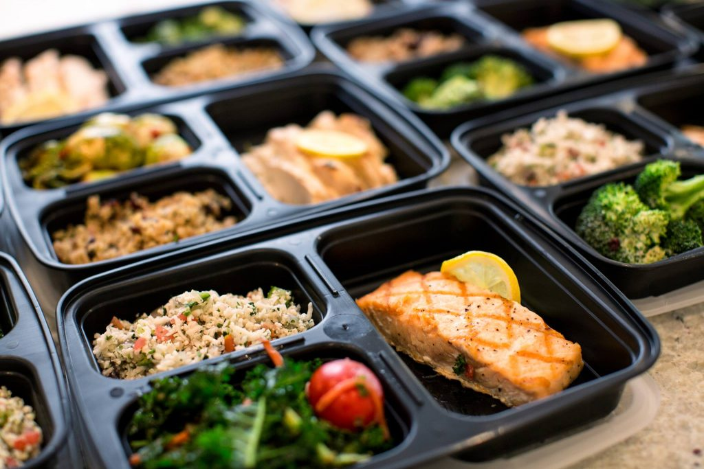 clean eating meal prep