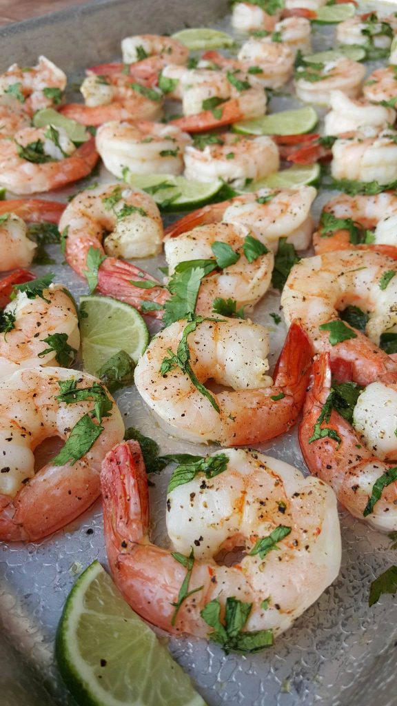 Cilantro-Lime Shrimp Clean Eating Recipe https://cleanfoodcrush.com/cilantro-lime-shrimp/