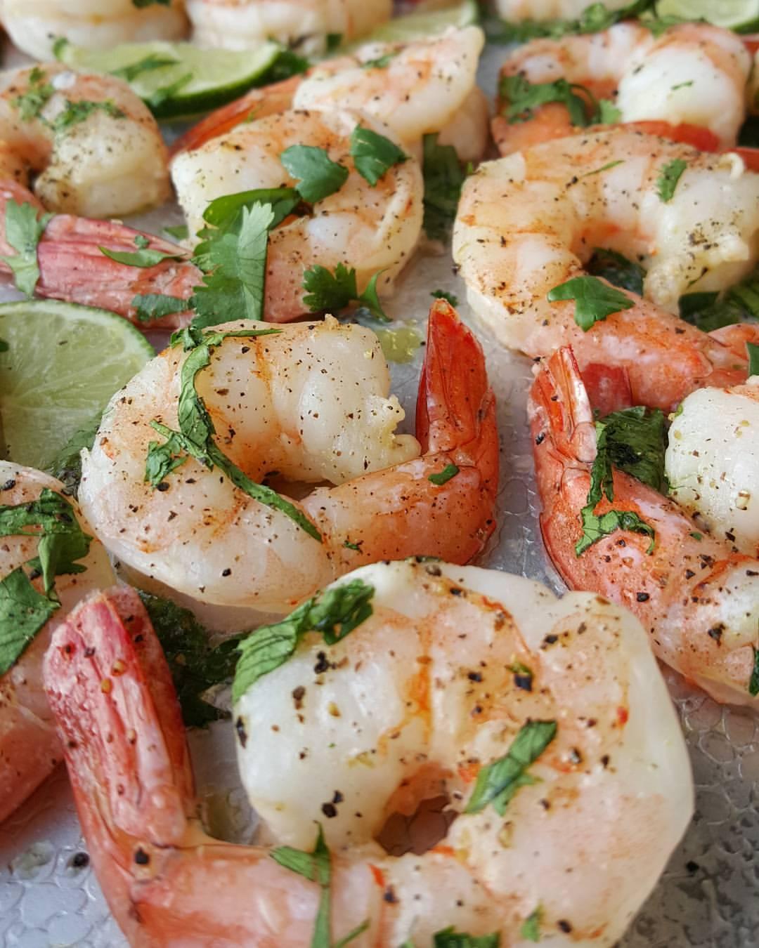 One-Pan Cilantro-Lime Shrimp   Clean Food Crush
