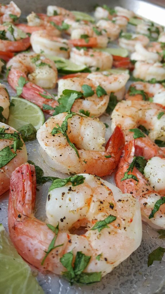 Clean Eating One Pan Cilantro-Lime Shrimp https://cleanfoodcrush.com/cilantro-lime-shrimp/